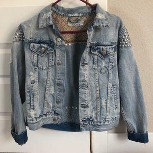 Jackets & Blazers - Auguste studded denim jacket